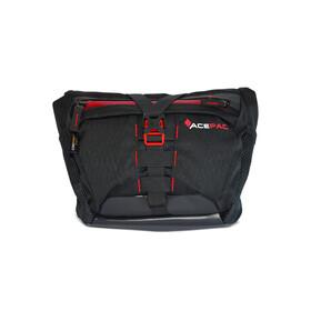 Acepac Bar Bag Fietstas grijs/rood